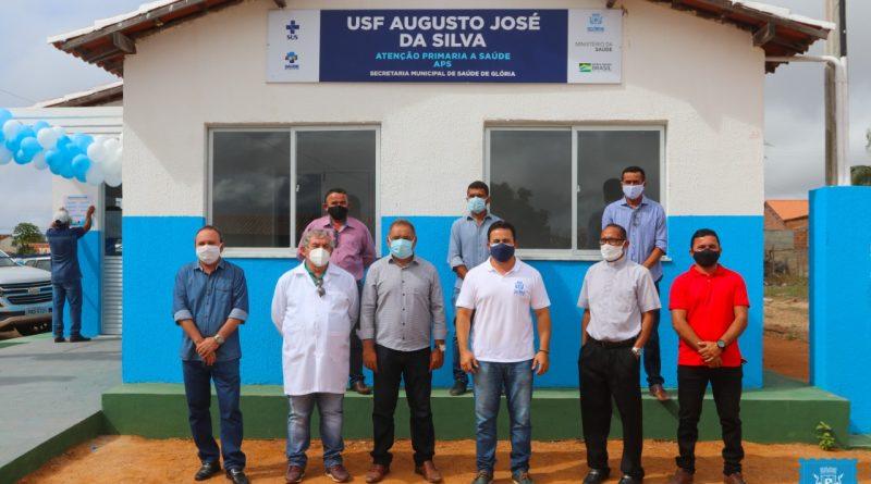 Prefeitura de Glória/BA inaugura nova unidade de Saúde da Família do Povoado Quixaba