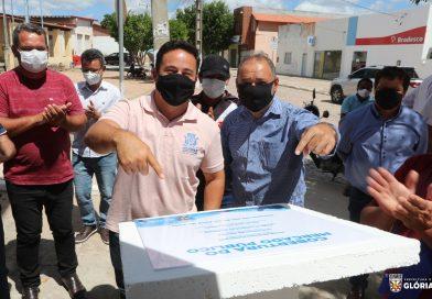Prefeitura de Glória/Ba entrega cobertura do Pátio da Feira Livre