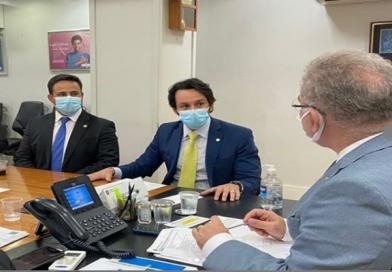 Prefeito David Cavalcanti solicita ao Ministro de Estado da Saúde recursos para construção de uma nova UBS